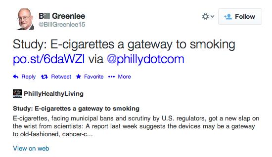 Greenlee tweet