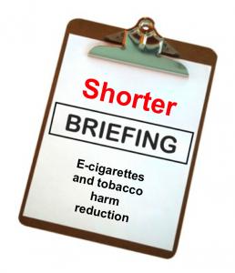 Shorter briefing